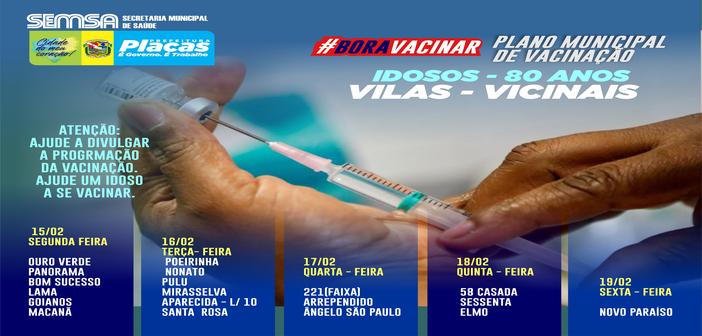 Plano Municipal de Vacinação, Vacina Idosos nas Comunidades Rurais