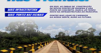 Obras de Infraestrutura e Recuperação das Estradas Avançam nas Regiões do Município